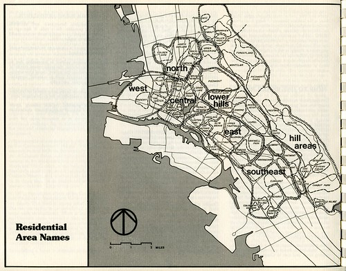 Residential Area Names (Oakland, 1978)