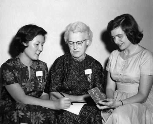 Shirk, Helen M at 1961 ULCW convention
