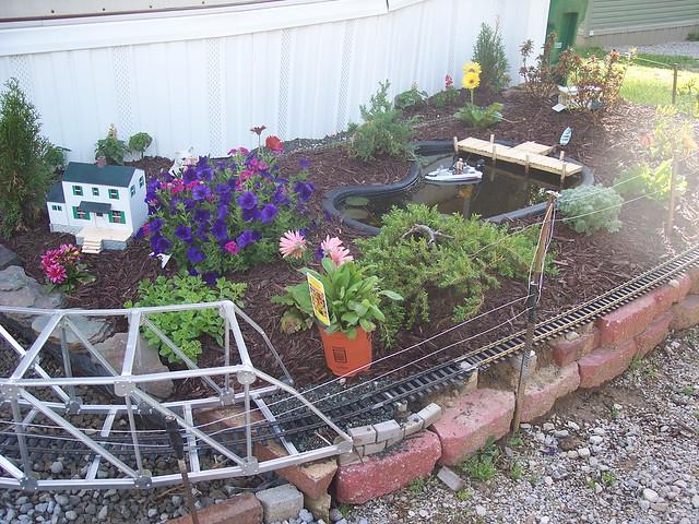 Garden train layout plans