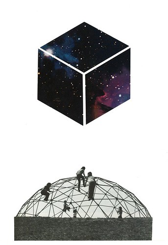 """Erik Parra """"Grasping the Structure (cube)"""""""