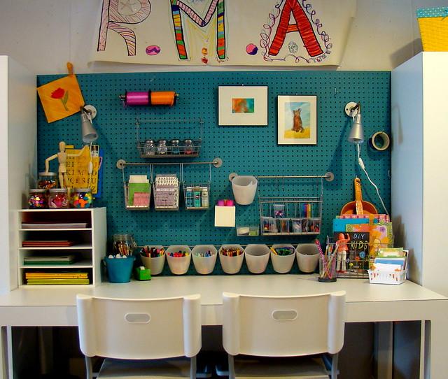 Kids craft room flickr photo sharing for Kids craft room