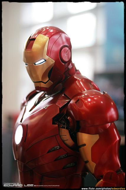 Iron Man Mark III 1:2 Maquette Statue