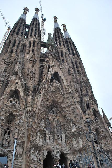 barcelona gaudi 39 s cathedral flickr photo sharing. Black Bedroom Furniture Sets. Home Design Ideas