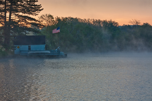 sunrise flag cassadagelake