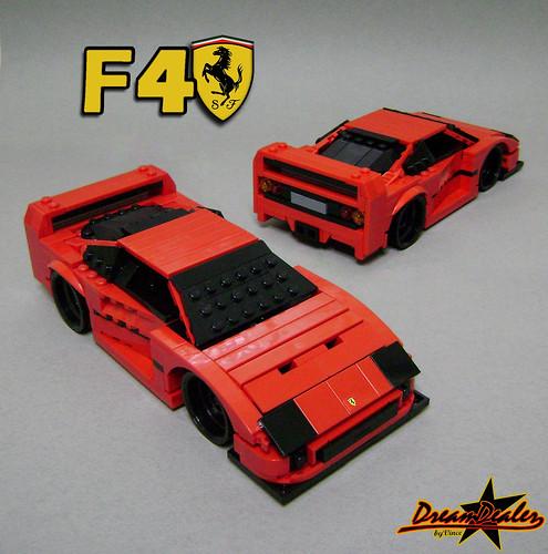 Ferrari F40 by ZetoVince