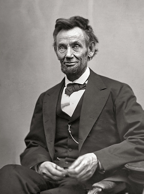 Abraham Lincoln, by Alexander Gardner 1865