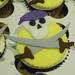 Pirate Cupcakes - <span>Riverside HS, NC Pirate mascot cupcakes  www.cupcakebite.com</span>