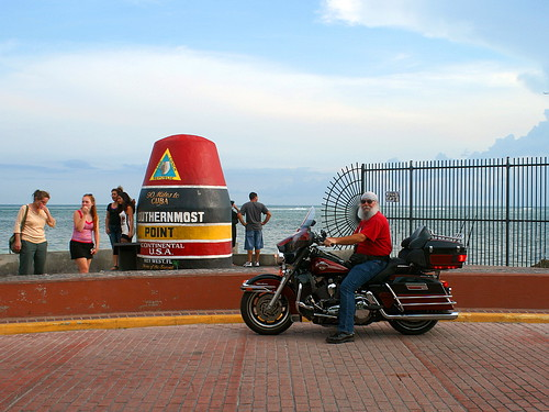 The Southernmost Motorcycle in the Continental U.S.