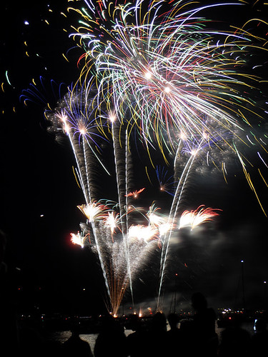 Cowes Fireworks 2009.