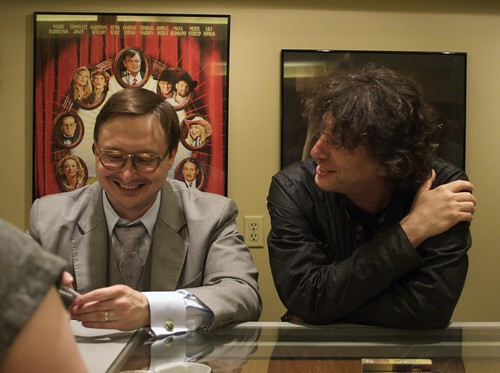 John Hodgman and Neil Gaiman