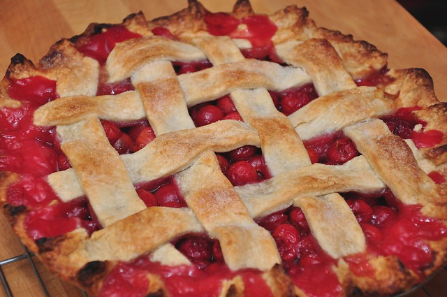 sour cherry pie   Explore tvol's photos on Flickr. tvol has ...