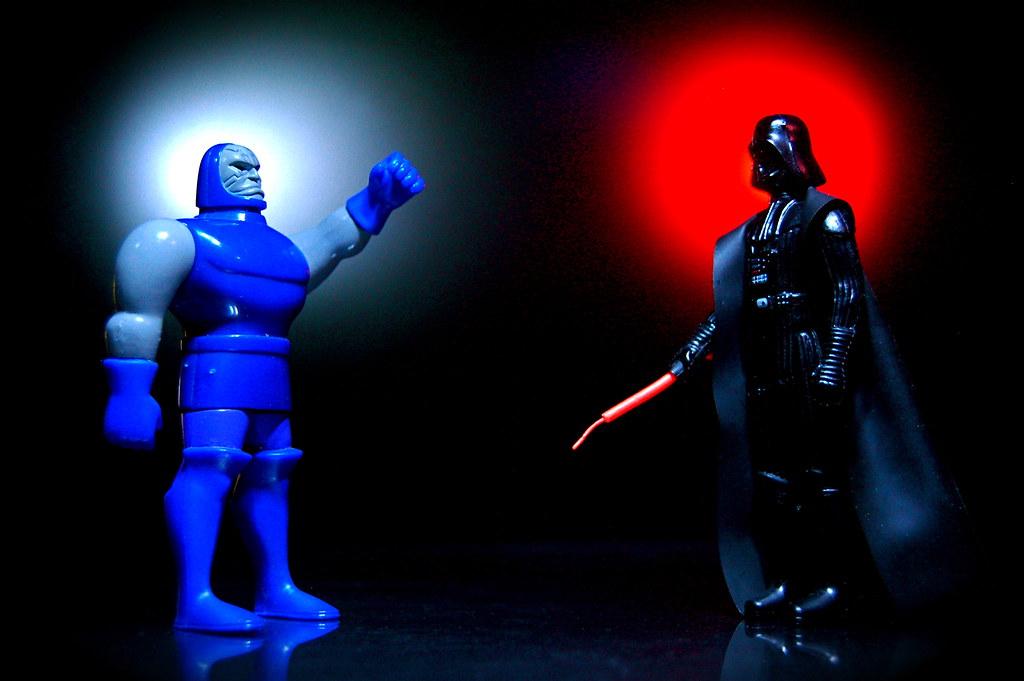 Darkseid vs. Darth Vader (171/365)