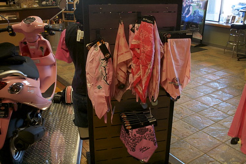 Pink Harley-Davidson Bandanas