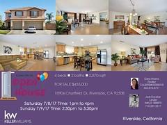 OPEN HOUSE 18906 Chatfield Dr Riverside CA 92508
