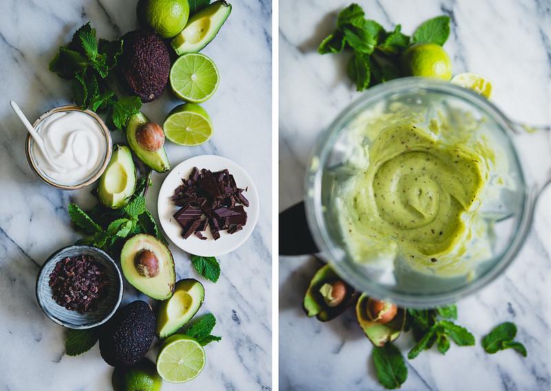 Vegan Avocado Cream Popsicles with Mint Chocolate Drizzle | Cashew Kitchen