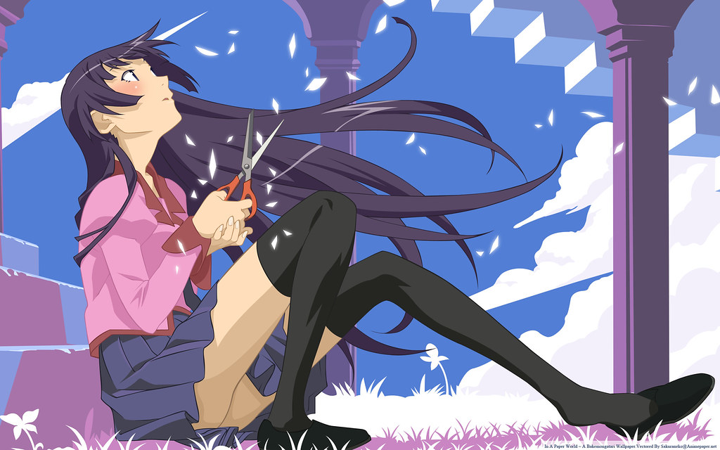 [AnimePaper]wallpapers_Bakemonogatari_sakuraneko(1.6)_2560x1600_99616