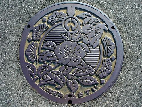 Inazawa Aichi manhole cover(愛知県稲沢市のマンホール)