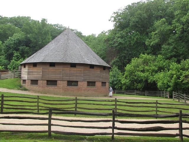 Mount Vernon Estate Round Barn Flickr Photo Sharing