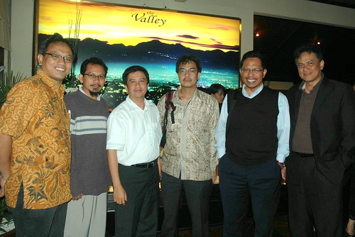 With ITB friends