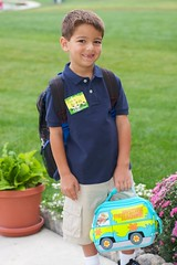 John's 1st Day of First Grade