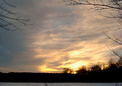 winter sunset sun nature wintersunset pennsylvania perfectescapes clarahinton sunsetinpennsylvania