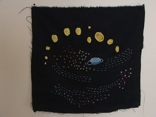 'arlo's space' embroidery | by tiny happy