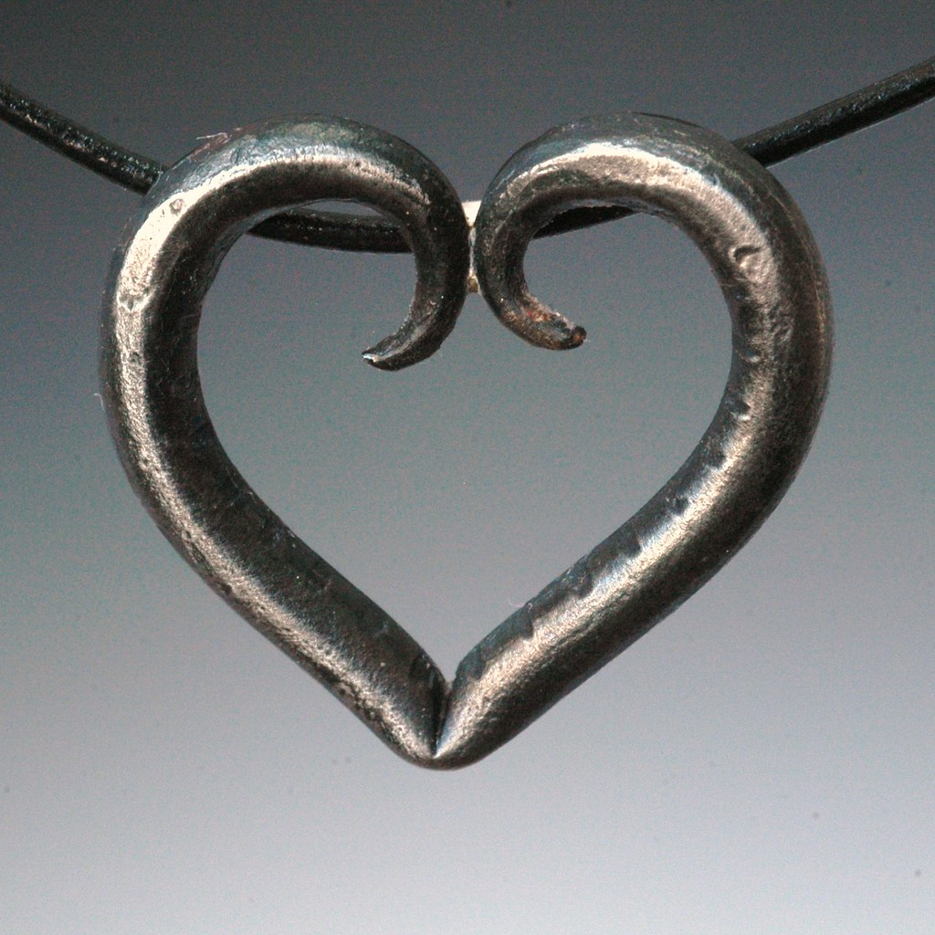 Forged steel heart