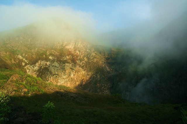 Inside the Cauldron of Mount Batur - Bali, Indonesia