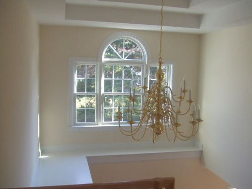 Ideas on Changing a Light Fixture in a Tall Foyer? - Home Owners Forum
