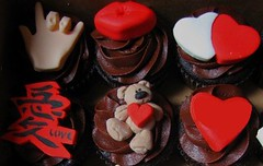 Montreal Valentine's Day Cupcakes