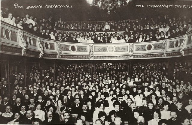 The old theatre hall