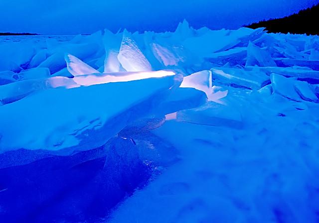 Lighting the ice 2