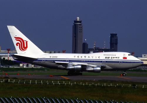 AIR CHINA International Boeing 747SP-J6 (B-2442/21932/433)