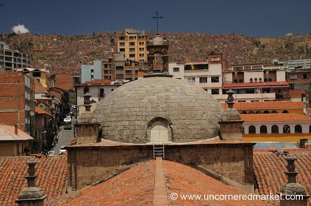 Rooftop of La Paz, Bolivia
