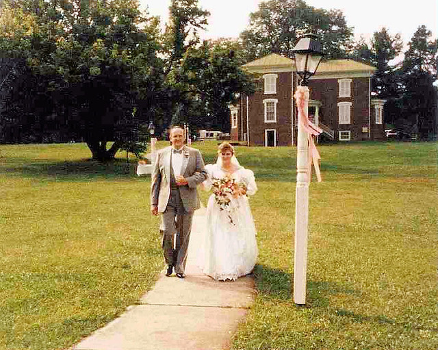 Howe House to Claytor Lake Gazebo, Father of the Bride