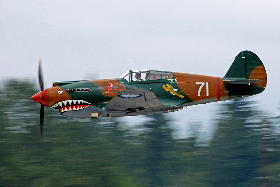 Curtiss P 40c Tomahawk The P 40 Tomahawk Debuted At The