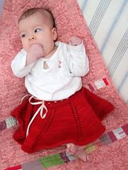 Abbey's twirly skirt