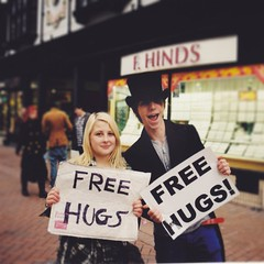 Got myself a free hug