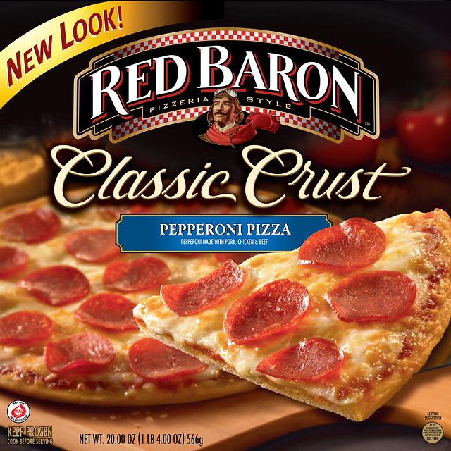 red baron pizza ingredients