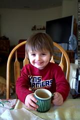 sugar rush from grandma's hot chocolate