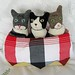 "Custom ""Three Cats in a Basket"" Doll"