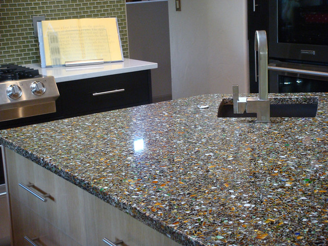 Alternatives To Granite Countertops : Vetrazzo alternative to granite countertops (148) Flickr - Photo ...