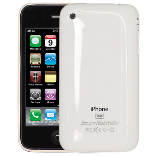 iphone 3gs 32gb back weiss white iphone 3gs weiss whit flickr. Black Bedroom Furniture Sets. Home Design Ideas