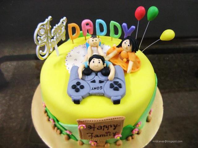 PS3 Dads Birthday Cake  Flickr - Photo Sharing!