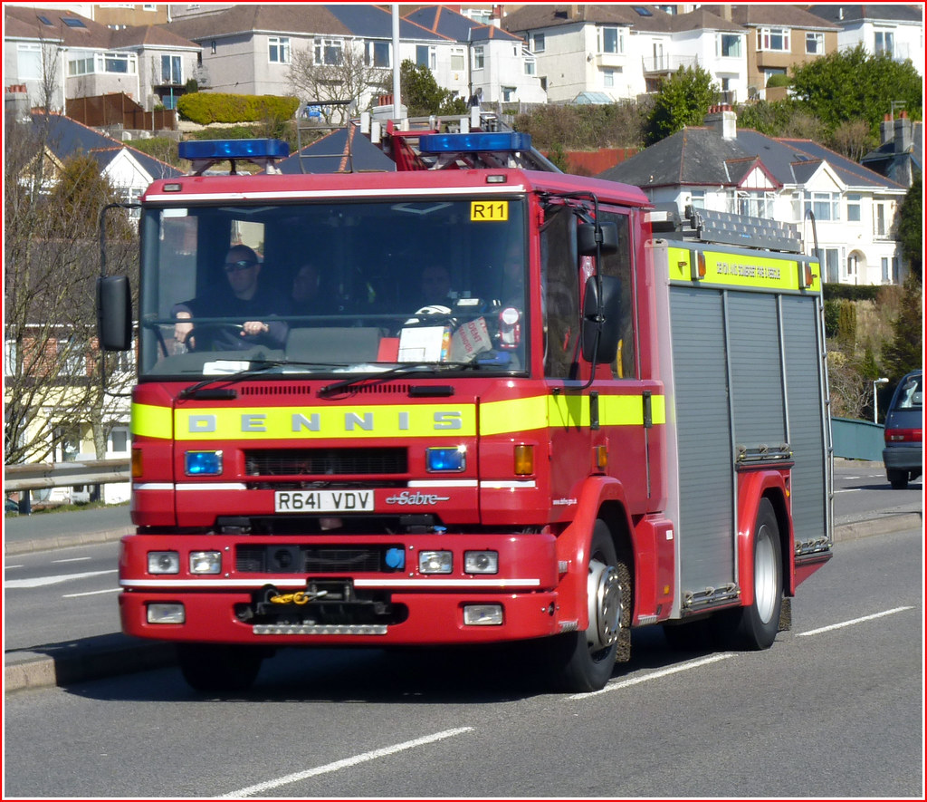 Devon and Somerset Fire Rescue R641VDV