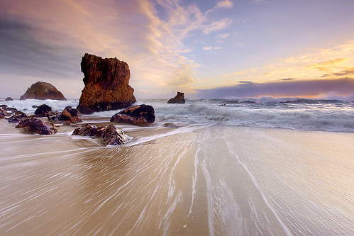 Monolithic Light - McClures Beach, California