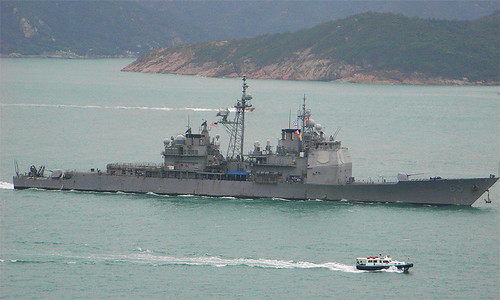US Chosin (CG-65) in Hong Kong