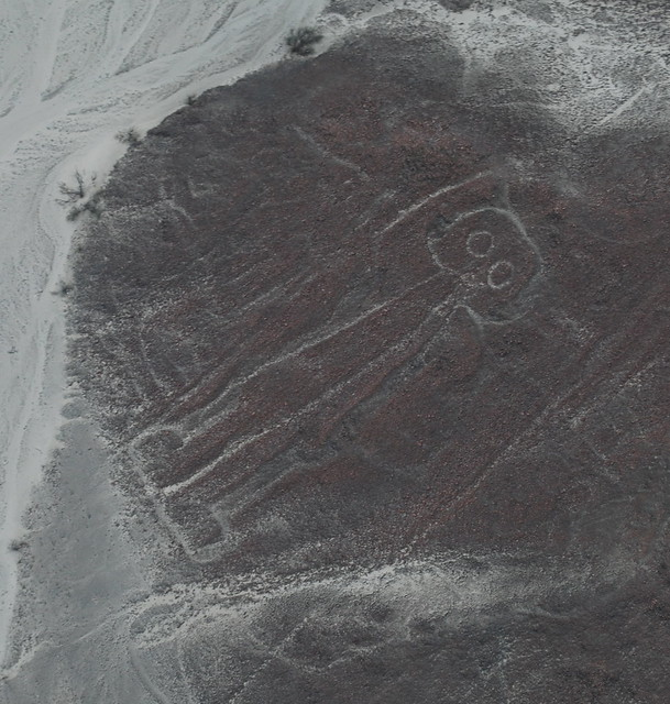 "Nazca lines - ""astronaut"" 