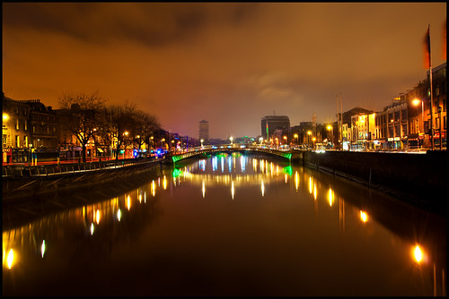 Dublin Night View