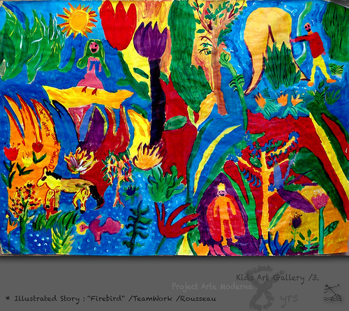 "8 yrs) _3* illustrated story: ""Firebird"" /teamWork /Rousseau by SeRGioSVoX"